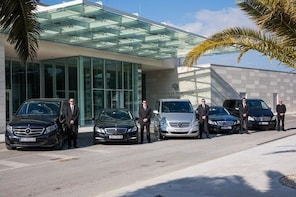 Luxury private transfer: Novalja to Split airport or Split