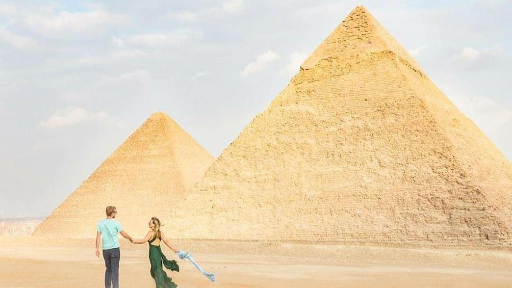 Show item 1 of 5. Day Tour To Giza Pyramids, Memphis City, Dahshur And Sakkara