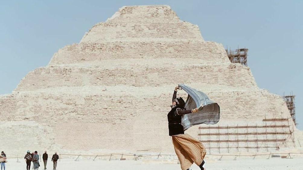 Show item 3 of 5. Day Tour To Giza Pyramids, Memphis City, Dahshur And Sakkara