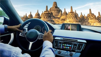 Yogyakarta: Private Car Charter with Driver