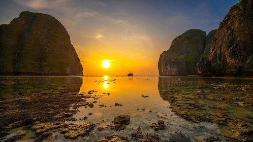 Phi Phi Islands Sunset Tour From Phi Phi by Longtail Boat