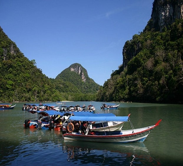Show item 1 of 2. Langkawi Island Hopping  Boat Tour with Private Transfers