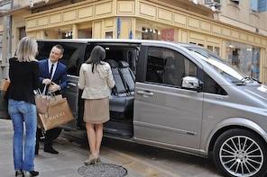 Private transfer from Saint Tropez to Nice up to 8 persons