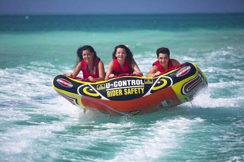 Maafushi: Water Sports Combo - Jet Ski, Kayak & Tube ride