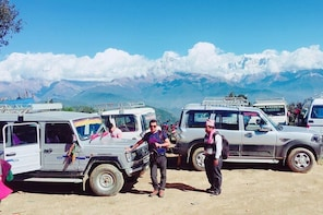 4x4 Jeep Trip to Panchase Hill 2395 Meters