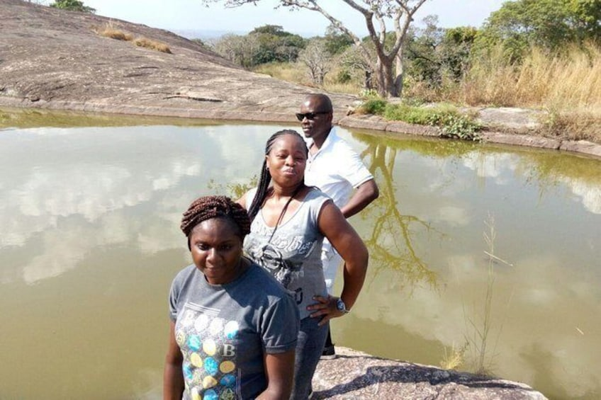Show item 1 of 1. 2-Day Private Tour of the Suspended Lake of Ado Awaye from Lagos