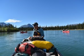 Full Day Canoeing - Kusawa Lake to Mendenhall