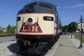 Historic RailPark and Train Museum Admission with Guided Tour