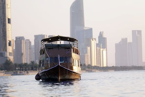 Dhow Cruise in Abu Dhabi with Dinner