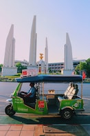 Combo Package: Hop On Hop Off Tuk Tuk & Visit to Museum Siam