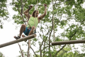 Aerial Adventure Course in Farragut State Park