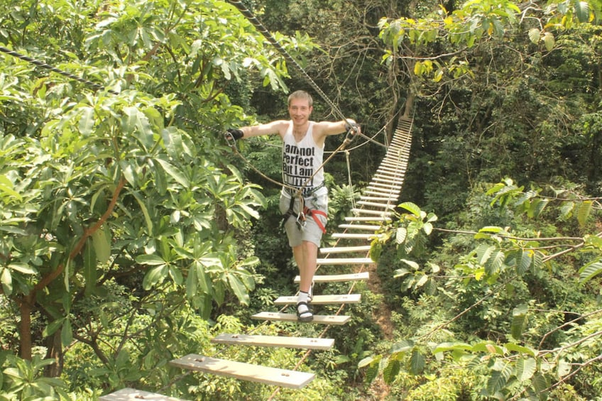 Show item 2 of 5. Tree Top Adventure Park Koh Chang