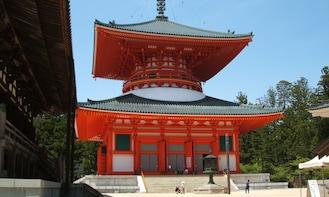 Wakayama Day Tour (Koyasan-Shirahama Onsen-Senshiji)