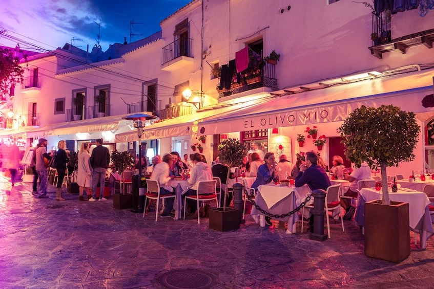 Show item 6 of 6. Ibiza at night with Old Town visit
