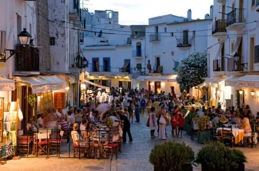 Show item 3 of 6. Ibiza at night with Old Town visit