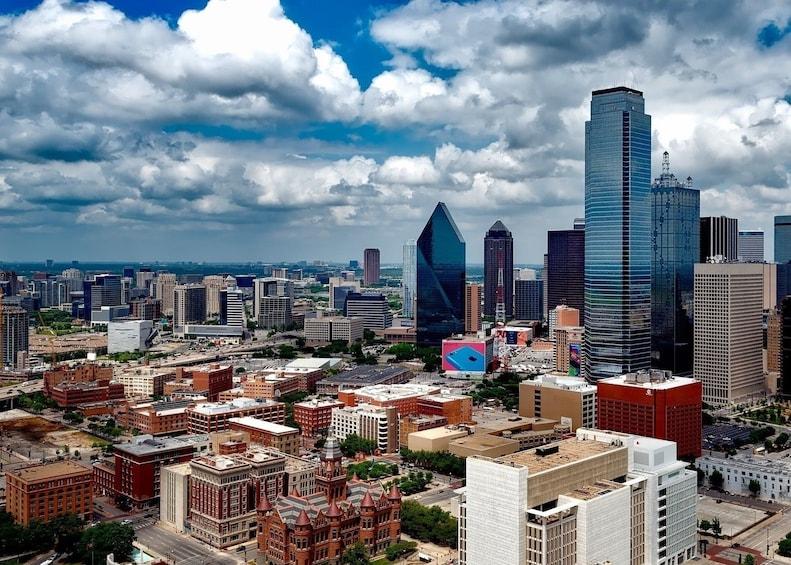 Show item 2 of 8. Dallas skyline