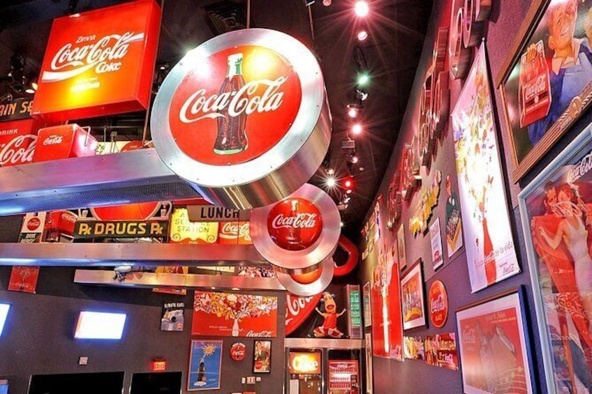 Show item 3 of 12. Skip-The-Line: World of Coca-Cola Admission Ticket