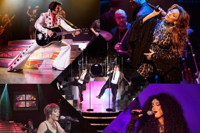 Summer 2021 lineup, Elvis, Shania, Pat, Cher and Blues Brothers™