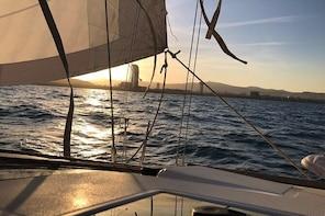 2 hour Sunset Sailing Cruise Barcelona
