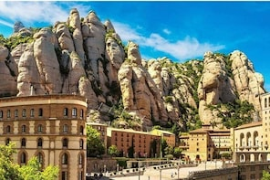 Montserrat by Yourself with English Chauffeur by Luxury Van