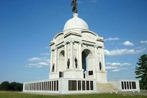 Gettysburg Battlefield Bus Tour via Enclosed Coach
