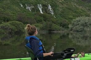 Kayak, Tandem Seat HALF DAY (4 hrs) 9:00am pu - Snake River - Blue Heart Sp...