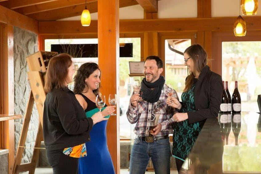 Show item 1 of 6. Local Food, Craft Beverage and Estate Winery Tour of Cowichan Valley