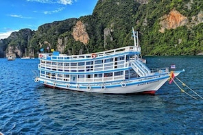 Maya Bay Sleepaboard Spend the night on our purpose built boat in Maya Bay