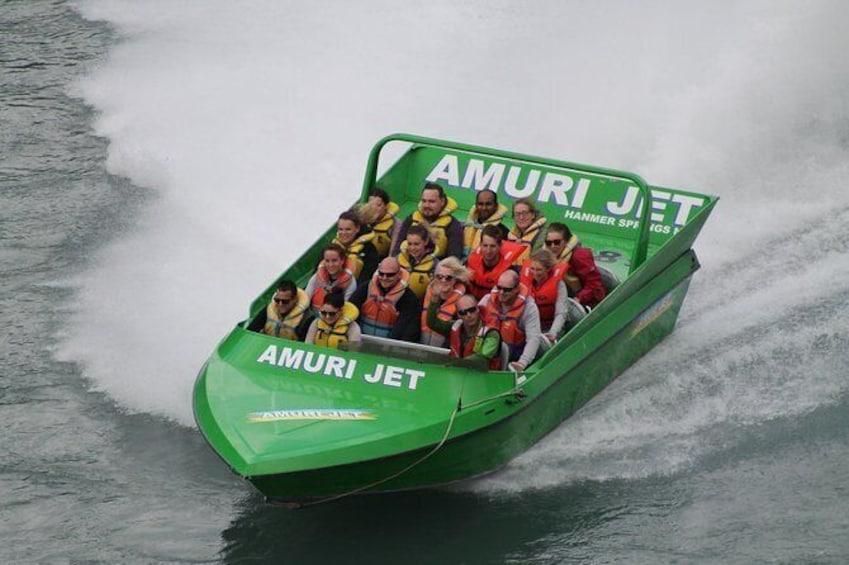 Show item 2 of 6. Amuri Adventure Jet Boating in Hanmer Springs