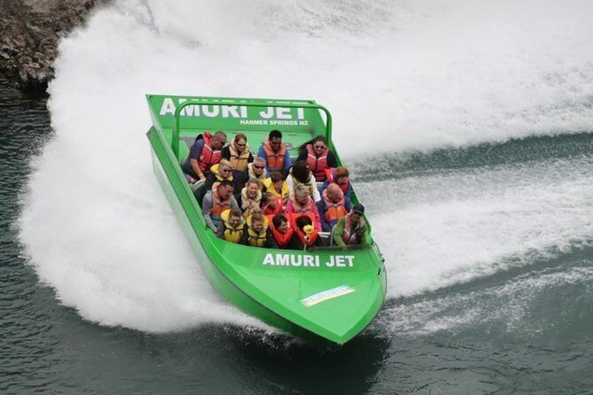 Show item 2 of 6. Amuri Adventure Jet Boating in Hanmer Springs