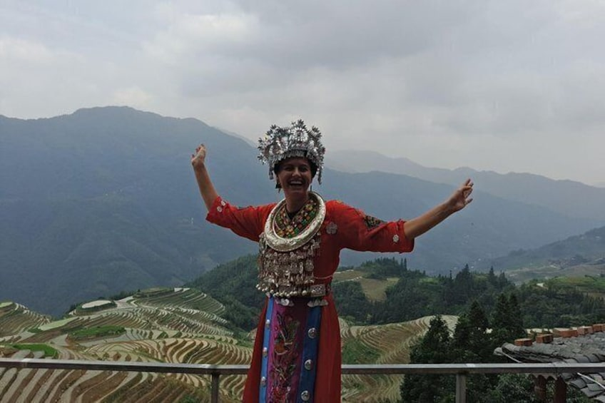 Private Transfer from Zhaoxing to Guilin and stops at Longji terraces area
