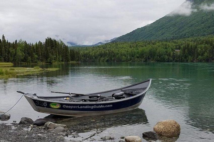 Half Day Fishing Package Kenai River or Kasilof River Salmon and Trout