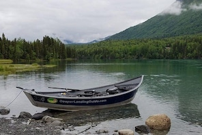 Full Day Fishing Package Kenai River or Kasilof River Salmon and Trout