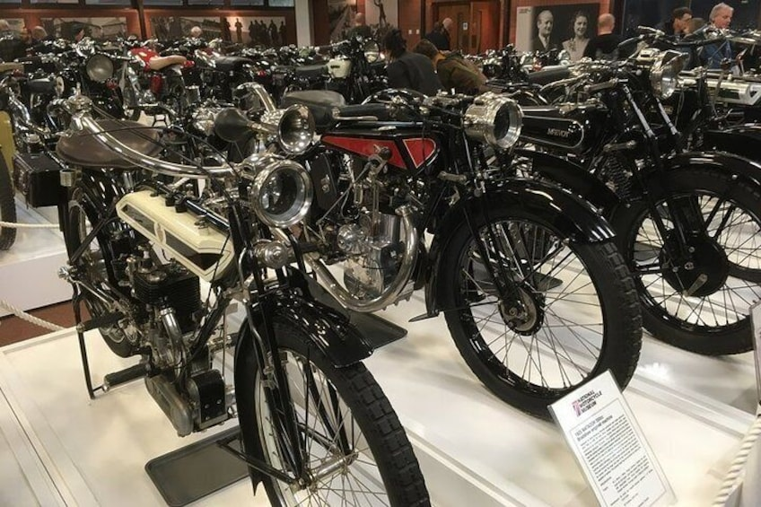 National Motorcycle Museum Admission Ticket