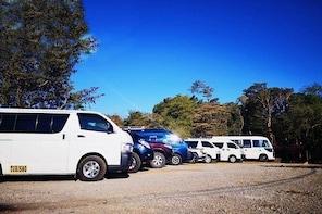 Direct Shared Shuttle from Santa Teresa to Monteverde
