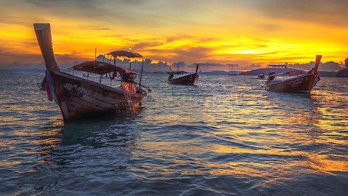 Snorkeling and Sunset Krabi 7 Islands Tour by Longtail Boat