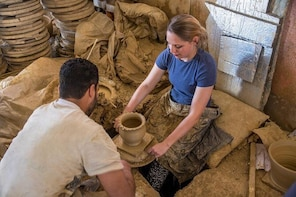 learn pottery, The Moroccan way.