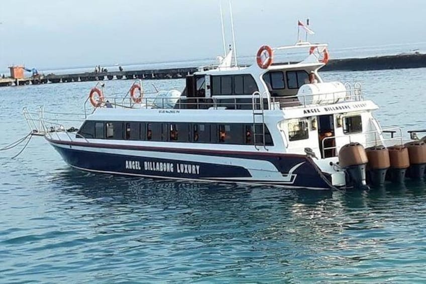 Show item 1 of 2. Fast Boat Tickets to Nusa Penida Island from Sanur beach Bali