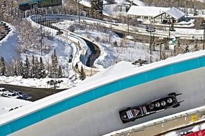 Park City Grand Tour Olympic Park Heber Railroad Crater Swim Ice Castles Ze...