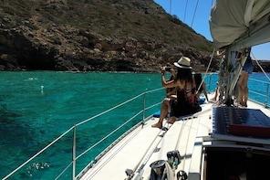 Boat sailing trip half day Palma, food inicluded Playa de Palma, Can Pastil...