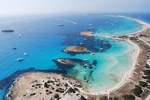 Formentera Day Trip from Ibiza on Private Luxury Catamaran