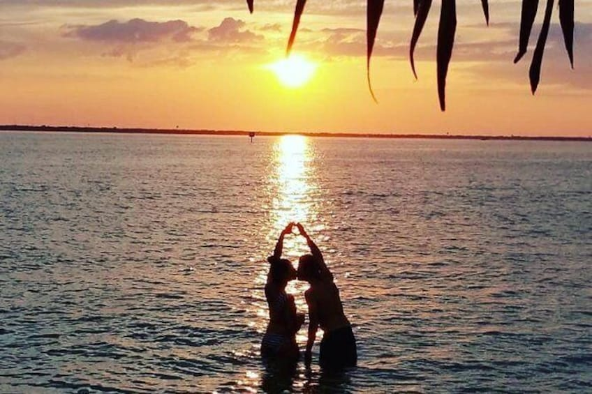 Show item 1 of 7. Tiki Sunset Cruise