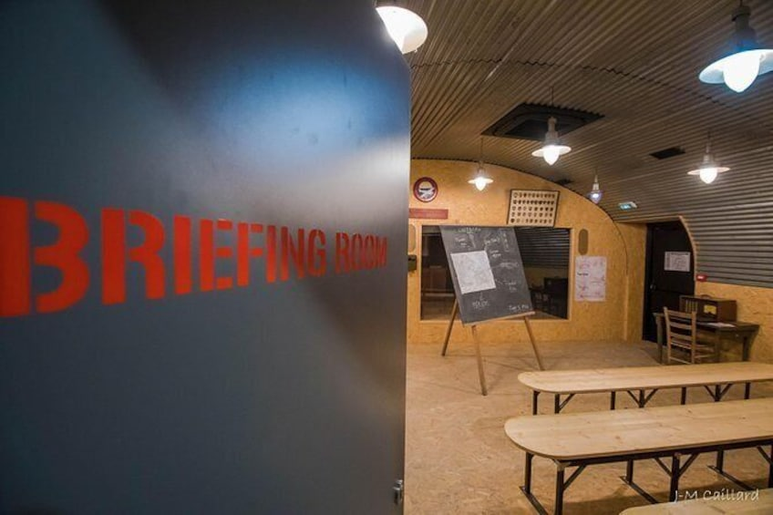 Show item 3 of 10. D-Day Experience Museum Entrance with real C-47 simulator and 3D cinema