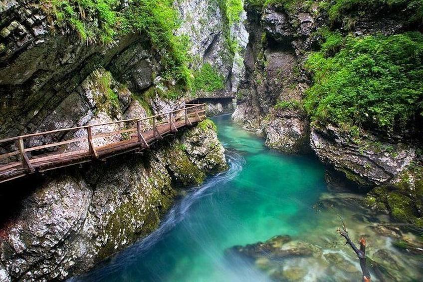 Vintgar gorge Shuttle