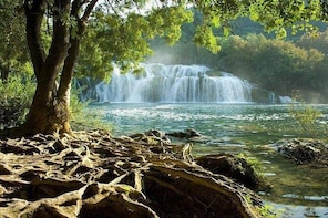 Krka park from Trogir - private roundtrip transfer including waiting time