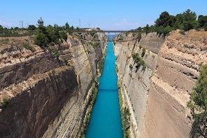 Corinth Canal-Nemea wine tasting Tour (6hrs)