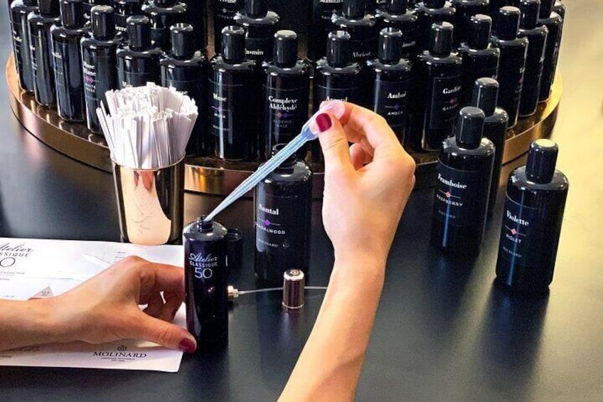 Perfume Workshop & Factory Visit in Grasse