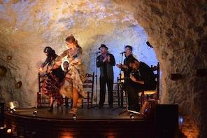 Skip the Line: 1 Hour Flamenco Show Ticket in a Cave-Restaurant in Granada