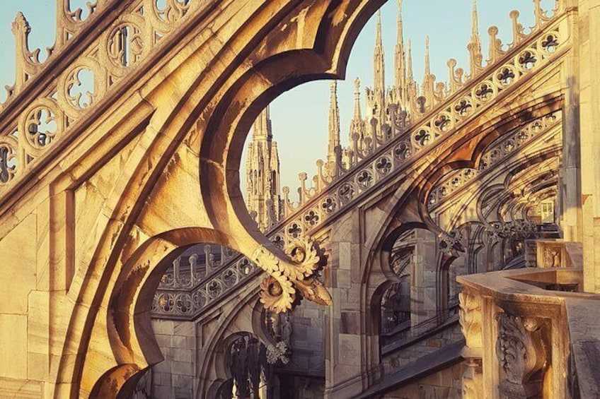 Show item 6 of 6. Skip the Line: Milan Cathedral Rooftop Ticket