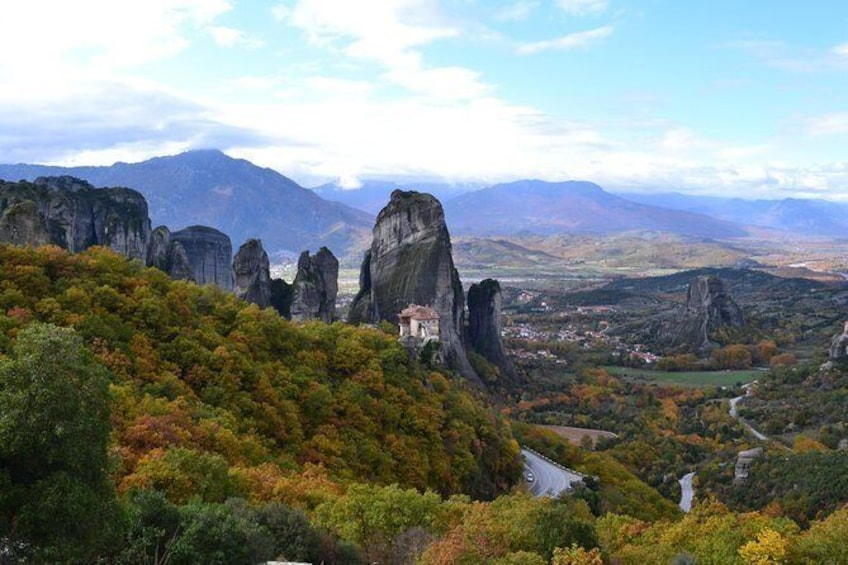 Show item 1 of 3. Full-day private tour to Meteora Monasteries